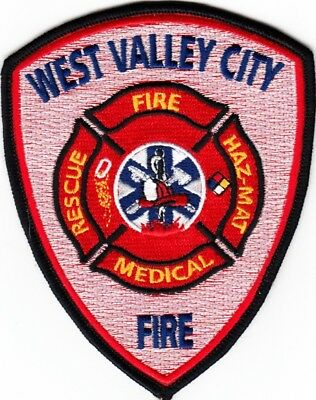 UTAH  -  WEST  VALLEY  CITY  FIRE  DEPARTMENT    Patch