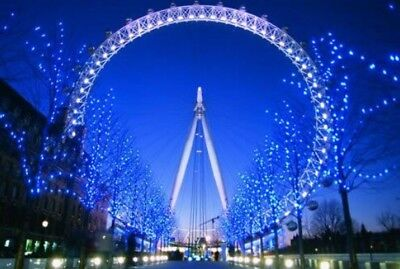 2 x FREE ADULT ENTRY TICKETS London Eye Valid Until The End Of 2018