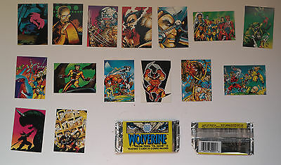 Wolverine - From Then Till Now II - Comic Images 1992 - Marvel - x15 TC TradingC