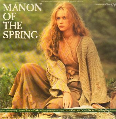 LP Jean-Claude Petit Manon Of The Spring (Original Soundtrack From The Motion P