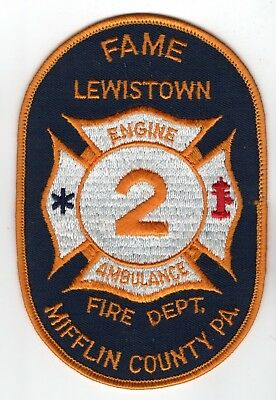 Fame Fire Department Mifflin County, PA Pennsylvania Patch Station 2 Lewistown
