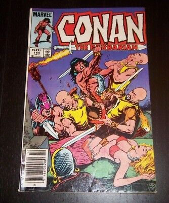 Conan The Barbarian #165  - Temple Of The Dragon!  Copper Age 1984