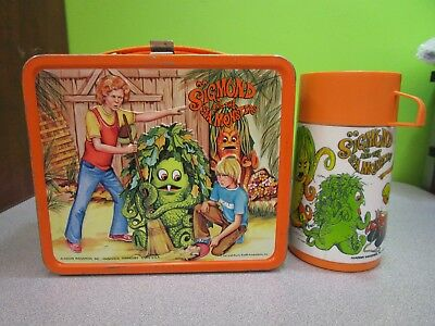 1970s Sigmund And The Sea Monsters Lunch Box with Thermos - Aladdin Industries