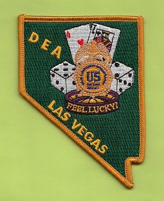 C31 * Dea Las Vegas Nevada Federal Patch Ice Police Drugs Agency State Shape