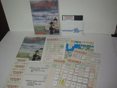 Vintage Software Apple II Plus IIe IIc Game RUSSIA from SSG