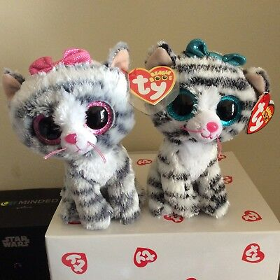 cab76547154 TY BEANIE BOO WILLOW the Cat Justice Exclusive 6