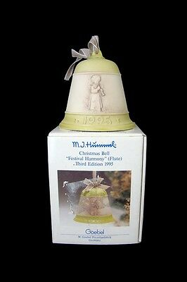 HUMMEL Christmas Bell 1995 Vtg Annual Collectible 3rd Edition Festival Harmony