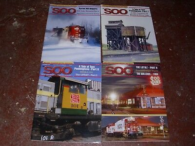 The SOO LINE Historical Society Magazines - All (4) Issues from Year 2006
