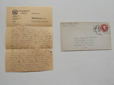 "WWII Letter 1945 Atomic Bomb Japan Russia 76th Infantry Division ""Onaway"" WW2"
