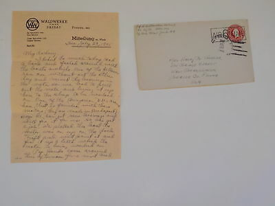 WWII Letter 1945 General George Patton Combat Walks In Chief Of Staff WW2