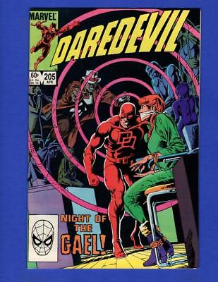 Daredevil #205 Nm 9.4 High Grade Copper Age Marvel Comics