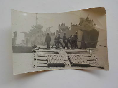 WWII Photo Battleship 326th Glider Infantry Photograph WW2
