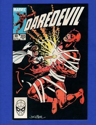 Daredevil #203 Nm- 9.2/ 9.4 High Grade Copper Age Marvel Comic