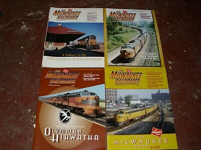 The Milwaukee Railroader Historical Society Magazine - (4) Issues 1997