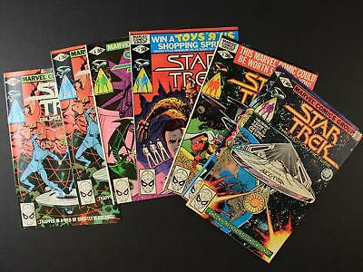 LOT of SEVEN 1980 STAR TREK THE MOTION PICTURE COMICS~#3, 5, 6, 7, 8, 9 x 2