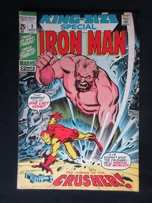 Iron Man Annual #2 MARVEL 1971 - HIGH GRADE - King Size Special, Stan Lee!!!!