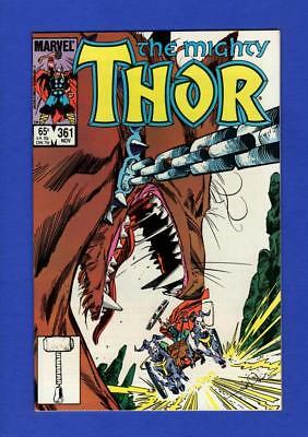 Thor #361 Nm 9.4 High Grade Copper Age Marvel Comic