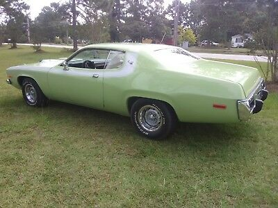 1973 Plymouth GTX ROAD RUNNER 1973 PLYMOUTH  ROAD RUNNER / GTX # MATCHING 440 1 year only seamist green paint