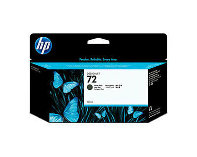 NEW HP #72 Matte Black Ink Cartridge C9403A GENUINE!