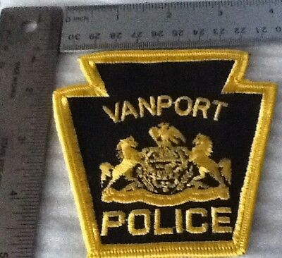 Vanport Police Department Keystone Patch