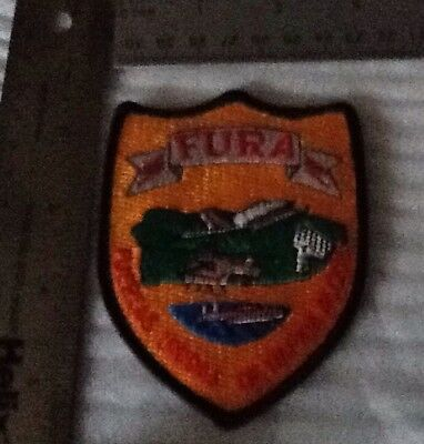 Puerto Rico State Police FURA Patch