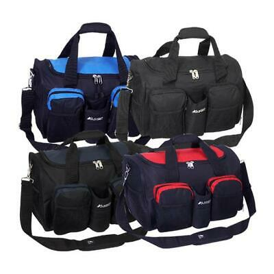 Everest S223-NY 18 in. 600 Denier Polyester Sports Duffel Bag with Wet Pocket