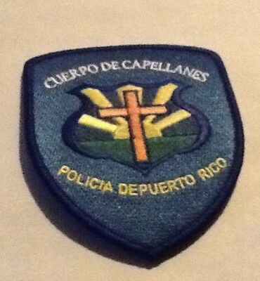 Puerto Rico State Police Chaplains Corps Patch