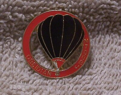 Obsidian N700Bj Balloon Pin