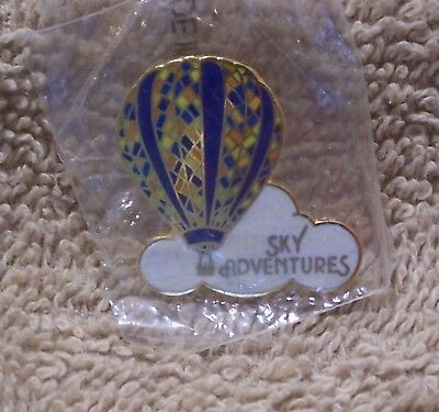 "Sky Adventures 1 1/8"" By 1 1/4"" Balloon Pin"
