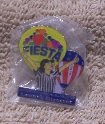 2018 Launch Director Albuquerque International Balloon Fiesta Balloon Pin