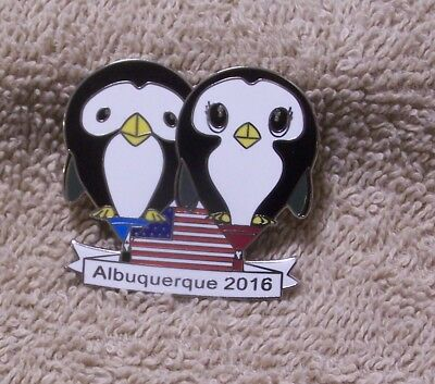2016 Albuquerque Puddles & Splash Balloon Pin