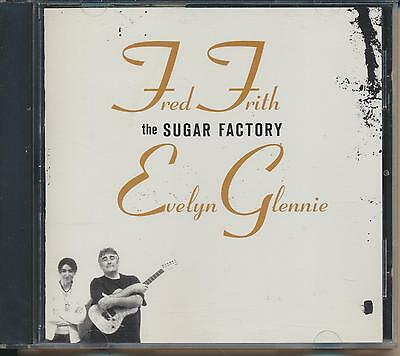 CD - Fred Frith/Evely Glennie: The Sugar Factory (TZADIK 2007)