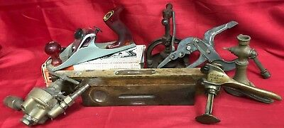 OUTILLAGE Lot ANCIENS BOIS Outils Sculpture Main Menuiserie Fer Forge Wrought U