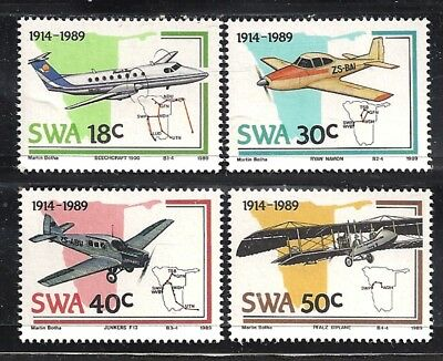 SOUTH WEST AFRICA 614-17 -MNH - CV $6.15 - Set