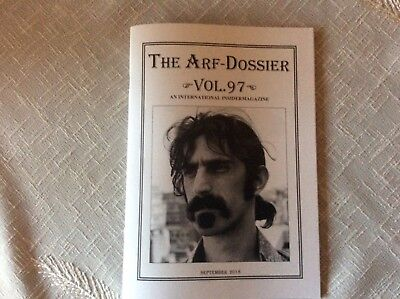 FRANK ZAPPA FANZINE * The ARF-Dossier, Vol. 97, September 2018