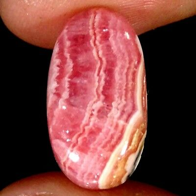 11.40Cts 100% Natural Pink Rhodochrosite Oval Cabochon Loose Gemstone