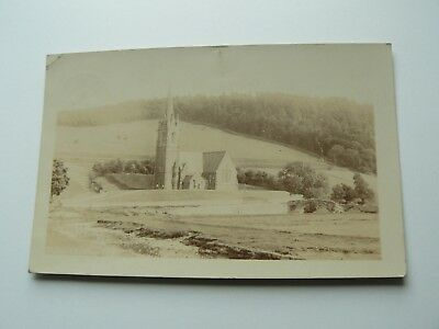 Real Photo RP Postcard by Geo W Gibson of Coldstream - Stow - 1906 - Cauuler