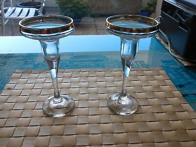 Lot De 2 Bougeoirs Anciens