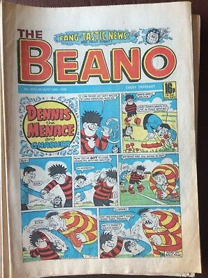Box L The Beano Comic No 2302 August 30th 1986