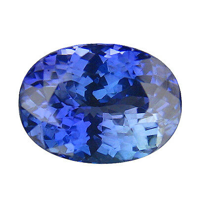 3.40Ct MIND BOGGLING ! TOP RICH FIRE AAA+ BLUISH VIOLET NATURAL TANZANITE