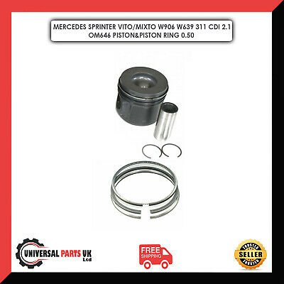 Mercedes Sprinter Vito/Mixto W906 W639 311 Cdi 2.1 Om646 Piston&Piston Ring Std