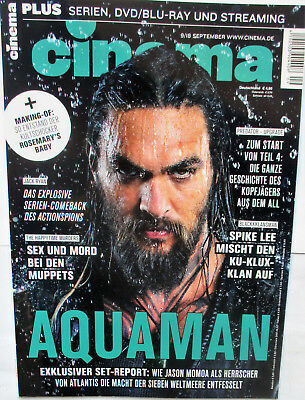 Cinema Nr.9 September 2018 # 484 - Aquaman - The Happy Time Murders