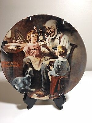 Norman Rockwell Plates -Heritage Collection Plates 1-14. 1977-1989