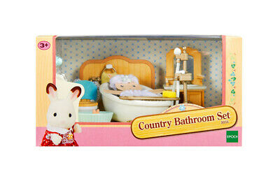 Sylvanian Families Room Set 5034 Country Bathroom Set /3+ Brand New In Box