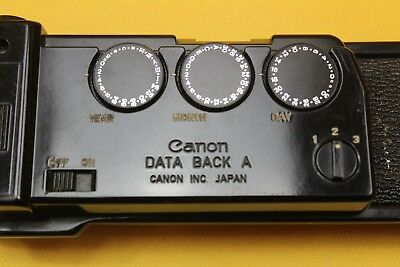 Canon Data Back A Untested But Looks Unused Battery Box Clean ##KEG06JWG