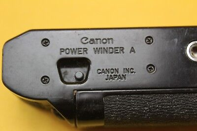Canon Power Winder A Untested But Looks OK Battery Box Clean ##KEG06JWG