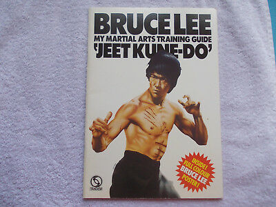 Bruce Lee,My Martial Arts Training Guide,1974,Kung Fu,mit Poster,Kampfsport