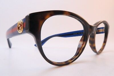 Vintage Gucci eyeglasses frames optyl Mod GG0039O size 52-18 140 made in Italy