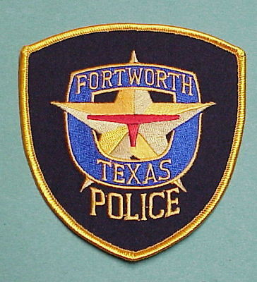 Fort Worth  Texas  Tx  Police Patch   Free Shipping!!!