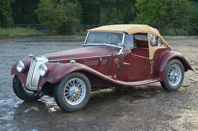 1954 MG TF  OLID NUMBERS MATCHING MGTF from the BOBBY GUNTHER COLLECTION